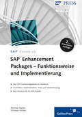 Cover von SAP Enhancement Packages – Funktionsweise und Implementierung