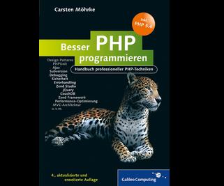 Cover von Besser PHP programmieren