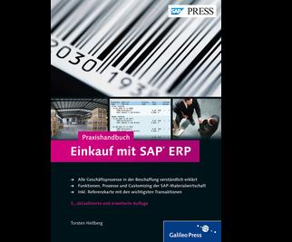 Cover von Praxishandbuch Einkauf mit SAP ERP