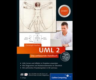 Cover von UML 2