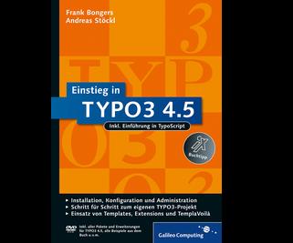 Cover von Einstieg in TYPO3 4.5