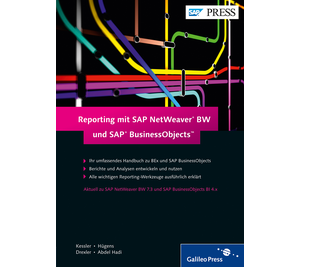 Cover von Reporting mit SAP NetWeaver BW und SAP BusinessObjects