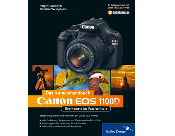 Cover von Canon EOS 1100D. Das Kamerahandbuch