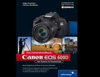 Cover von Canon EOS 600D. Das Kamerahandbuch