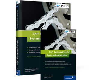 Cover von SAP BusinessObjects – Systemadministration