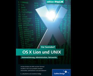 Cover von OS X Lion und UNIX