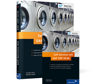 Cover von Self-Services mit SAP ERP HCM