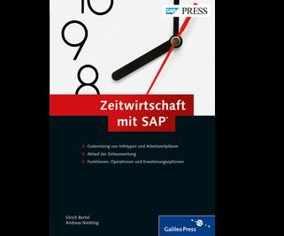 Cover von Zeitwirtschaft mit SAP
