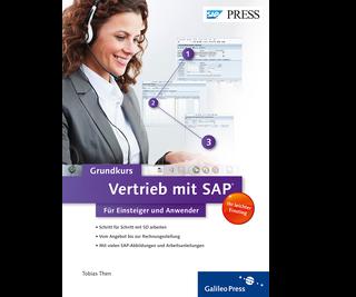 Cover von Vertrieb mit SAP: Der Grundkurs für Einsteiger und Anwender