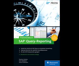 Cover von Praxishandbuch SAP Query-Reporting