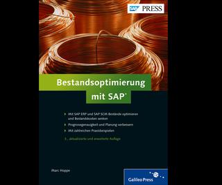 Cover von Bestandsoptimierung mit SAP