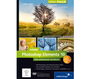 Cover von Adobe Photoshop Elements 10