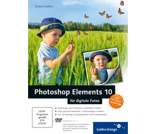 Cover von Photoshop Elements 10 für digitale Fotos