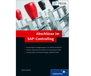Cover von Abschlüsse im SAP-Controlling