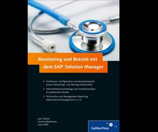 Cover von Monitoring und Betrieb mit dem SAP Solution Manager