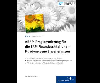 Cover von ABAP-Programmierung für die SAP-Finanzbuchhaltung – Kundeneigene Erweiterungen