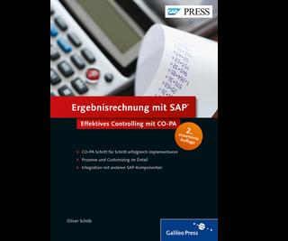 Cover von Ergebnisrechnung mit SAP
