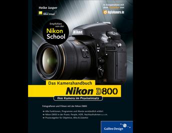 Cover von Nikon D800. Das Kamerahandbuch