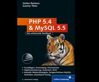 Cover von PHP 5.4 und MySQL 5.5