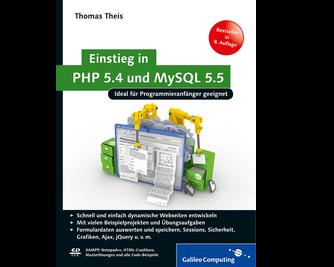 Cover von Einstieg in PHP 5.4 und MySQL 5.5