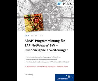 Cover von ABAP-Programmierung für SAP NetWeaver BW – Kundeneigene Erweiterungen