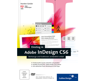Cover von Einstieg in Adobe InDesign CS6