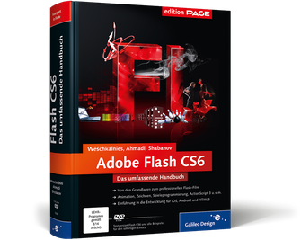 Cover von Adobe Flash CS6