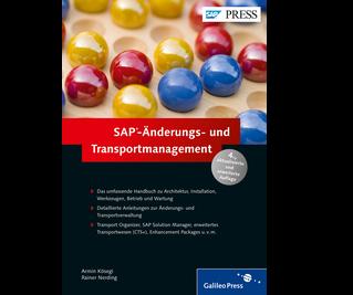 Cover von SAP-Änderungs- und Transportmanagement