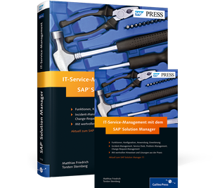 Cover von IT-Service-Management mit dem SAP Solution Manager