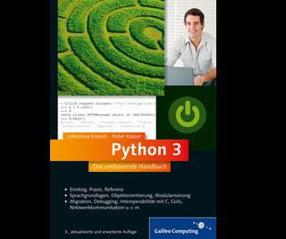 Cover von Python 3