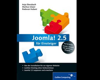 Cover von Joomla! 2.5 für Einsteiger
