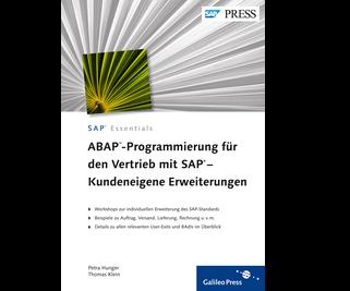 Cover von ABAP-Programmierung für den Vertrieb mit SAP – Kundeneigene Erweiterungen