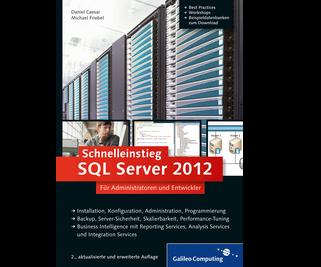 Cover von Schnelleinstieg SQL Server 2012
