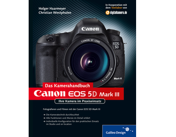 Cover von Canon EOS 5D Mark III. Das Kamerahandbuch