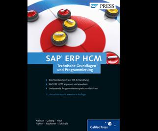 Cover von SAP ERP HCM – Technische Grundlagen und Programmierung