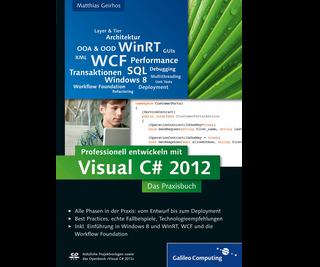 Cover von Professionell entwickeln mit Visual C# 2012