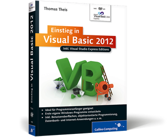 Cover von Einstieg in Visual Basic 2012