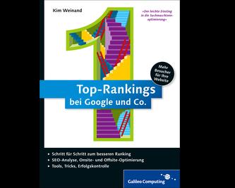 Cover von Top-Rankings bei Google und Co.