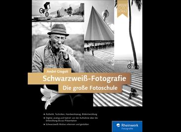 Cover von Schwarzweiß-Fotografie. Die große Fotoschule