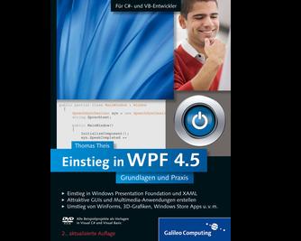 Cover von Einstieg in WPF 4.5