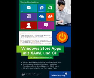 Cover von Windows Store Apps mit XAML und C#