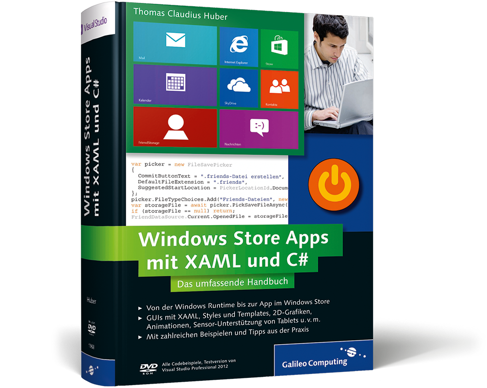 Windows store apps mit xaml und c das umfassende for Idee application web