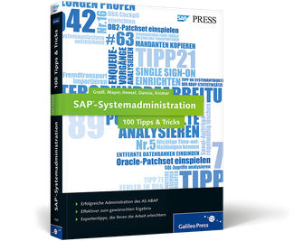 Cover von SAP-Systemadministration − 100 Tipps & Tricks