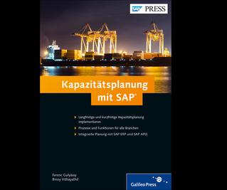 Cover von Kapazitätsplanung mit SAP