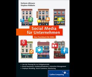 Cover von Social Media für Unternehmen