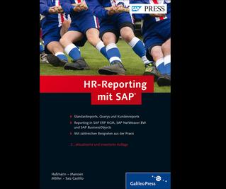 Cover von HR-Reporting mit SAP