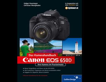 Cover von Canon EOS 650D. Das Kamerahandbuch