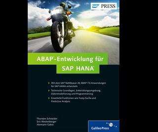 Cover von ABAP-Entwicklung für SAP HANA