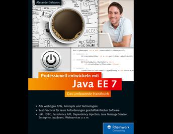 Cover von Professionell entwickeln mit Java EE 7