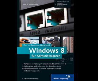 Cover von Windows 8 für Administratoren
